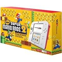 Nintendo 2DS - Scarlet Red with New Super Mario Bros 2