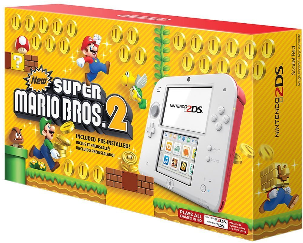 Amazon Com Nintendo 2ds New Super Mario Bros 2 Edition Video
