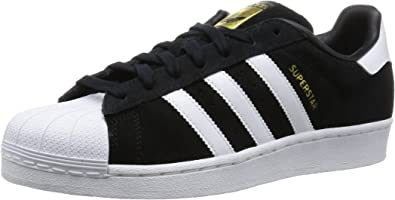adidas Superstar Suede - Zapatillas de baloncesto Hombre, - negro ...