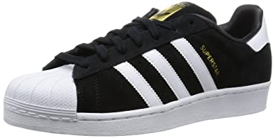 check out 9794f cf44e adidas Men s Superstar Suede Basketball Shoes, FTWR White Core Black, ...