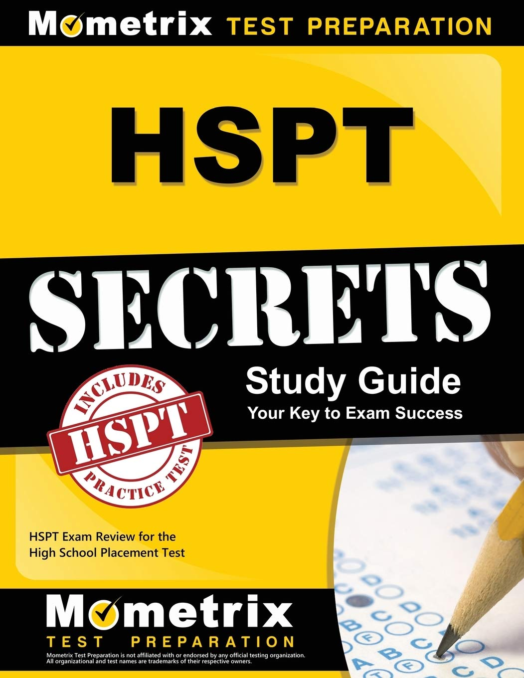 HSPT Secrets Study Guide: HSPT Exam Review for the High School Placement Test by Brand: Mometrix Media LLC