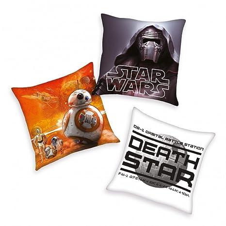 Star Wars - Cojín decorativo (Juego de 3: Amazon.es: Hogar