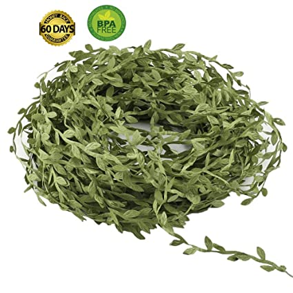 Amazon com: eucalyptus garland Artificial Vines, 164 Ft Fake