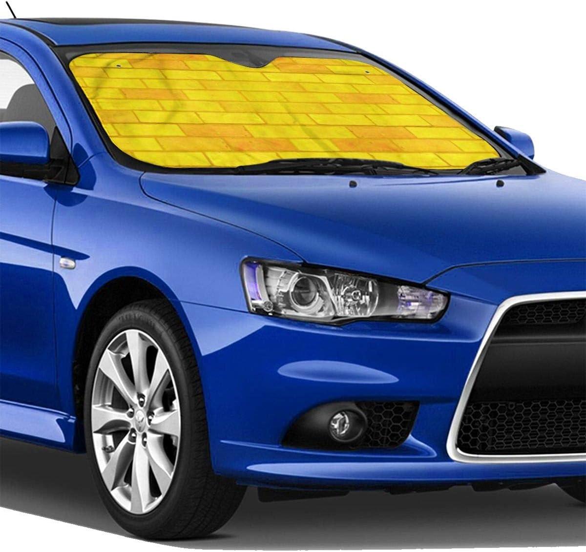 TMVFPYR Accordion Style Car SUV Front Windshield Sushi Pugs Sunshade