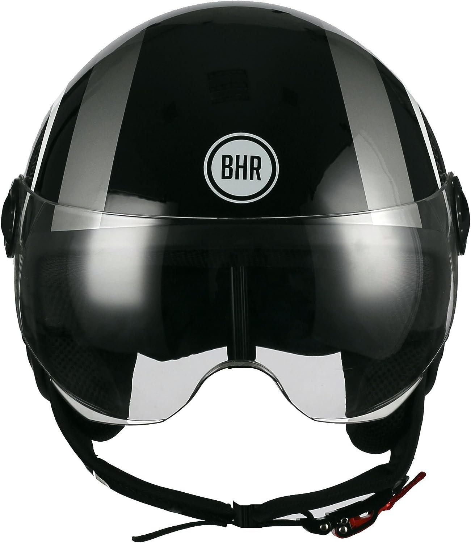 XL 60/cm BHR 32815/Motorrad Helm Demi-Jet Line One 801