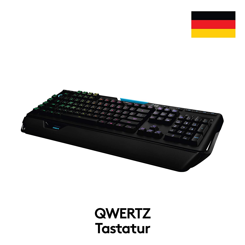Logitech G910 Orion Spectrum Tastiera Gaming Meccanica Illuminata 9 tasti G Programmabili Tasti Retroilluminati LIGHTSYNC RGB Switch Romer-G Tactile Secondo Schermo Arx Layout Francese AZERTY