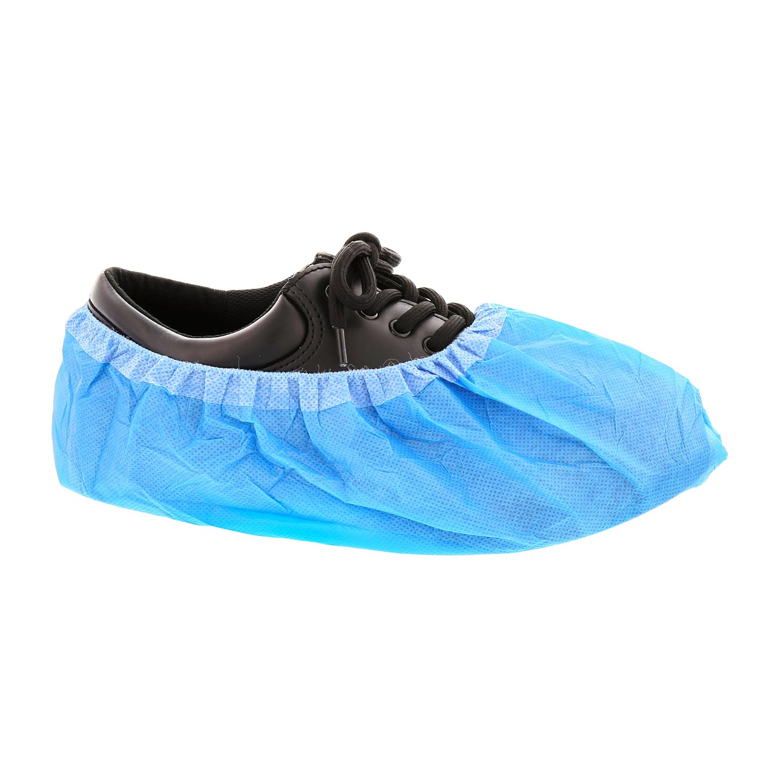 Royal 16.5 Inch Blue Super Sticky Shoe Covers, Case of 150