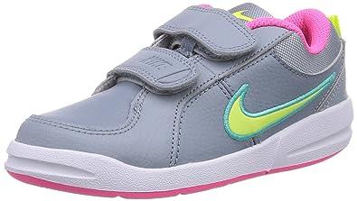online store 15376 7b288 Nike Pico 4 Psv 454477-009 Mädchen Tennisschuhe Grau (Mgnt Grey/Vlt ...