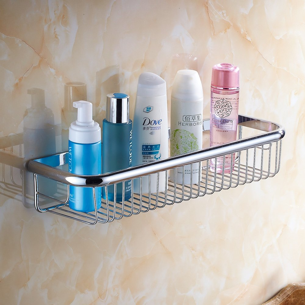 Beelee Badezimmer Regal Wandregale Duschkorb aus Messing, mit Seifenablagebereich Wenzhou Bela Sanitary Ware Co. Ltd BA941030G