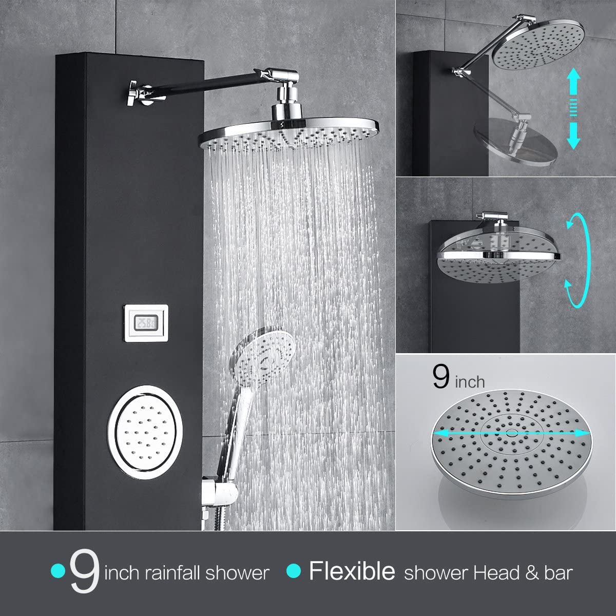 consumer reports shower panels
