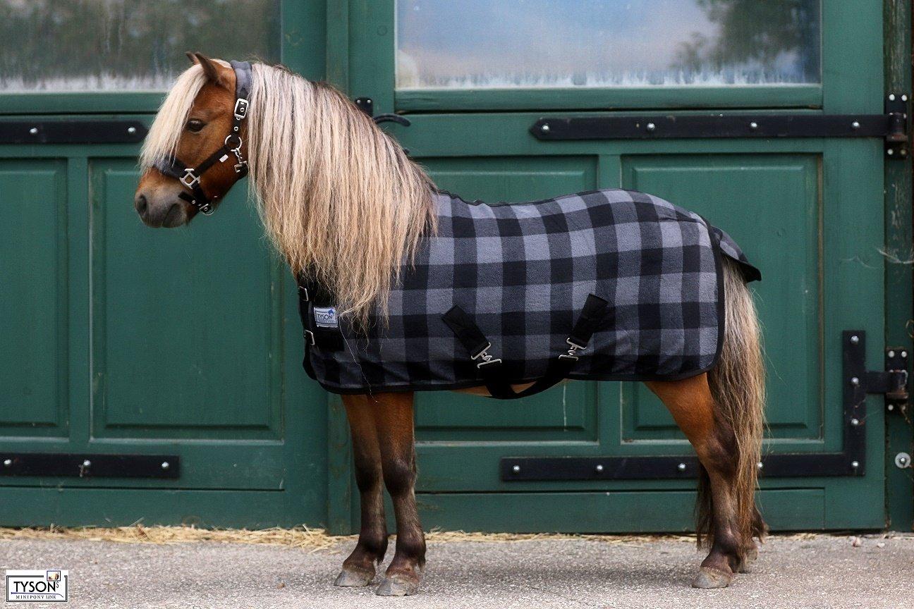 SET Abschwitzdecke mit Halfter 3 Modelle Fleece weich Minishetty Shetty 60 70 80 90 100 110 cm 100) Tysons Breeches ®