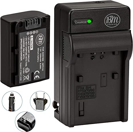 AC Wall Battery Power Charger Adapter Compatible with Sony Camcorder HDR-PJ50 V//E HDR-PJ30 V