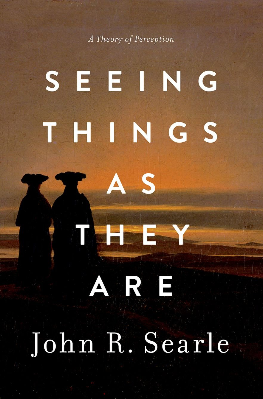 Seeing Things as They Are: A Theory of Perception: Amazon.de: John (Willis  S. and Marion Slusser Professor of Philosophy, Willis S. and Marion Slusser  ...