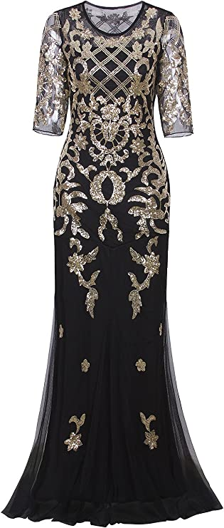 Vintage 1920s Evening Gown