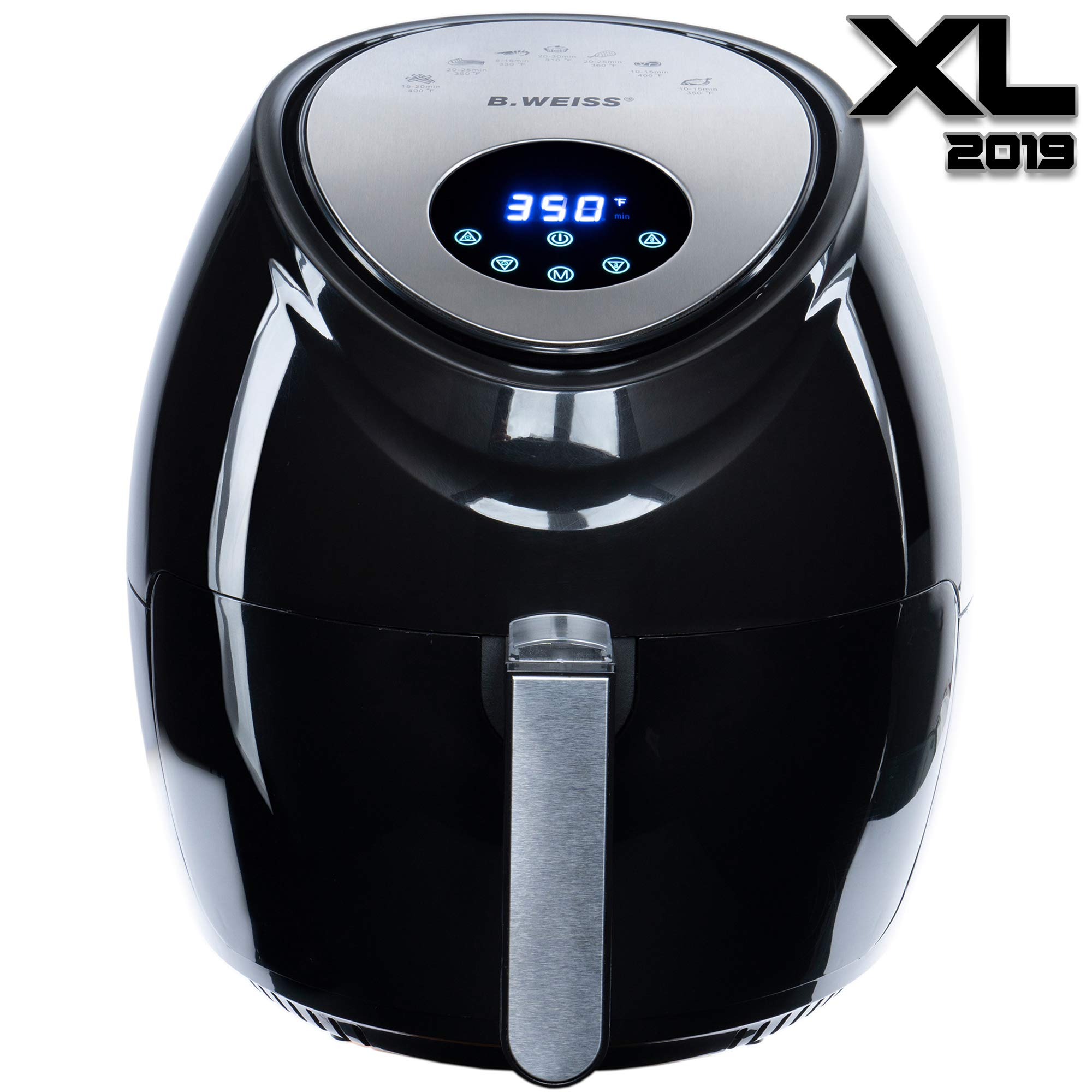 2019 Air Fryer Xl Best 5 5 Qt 8 In 1 By B Weiss