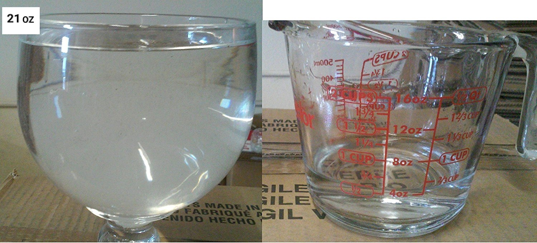 Schooner Beer Glass - 21 Oz 4 Pack by Chefcaptain (Image #1)