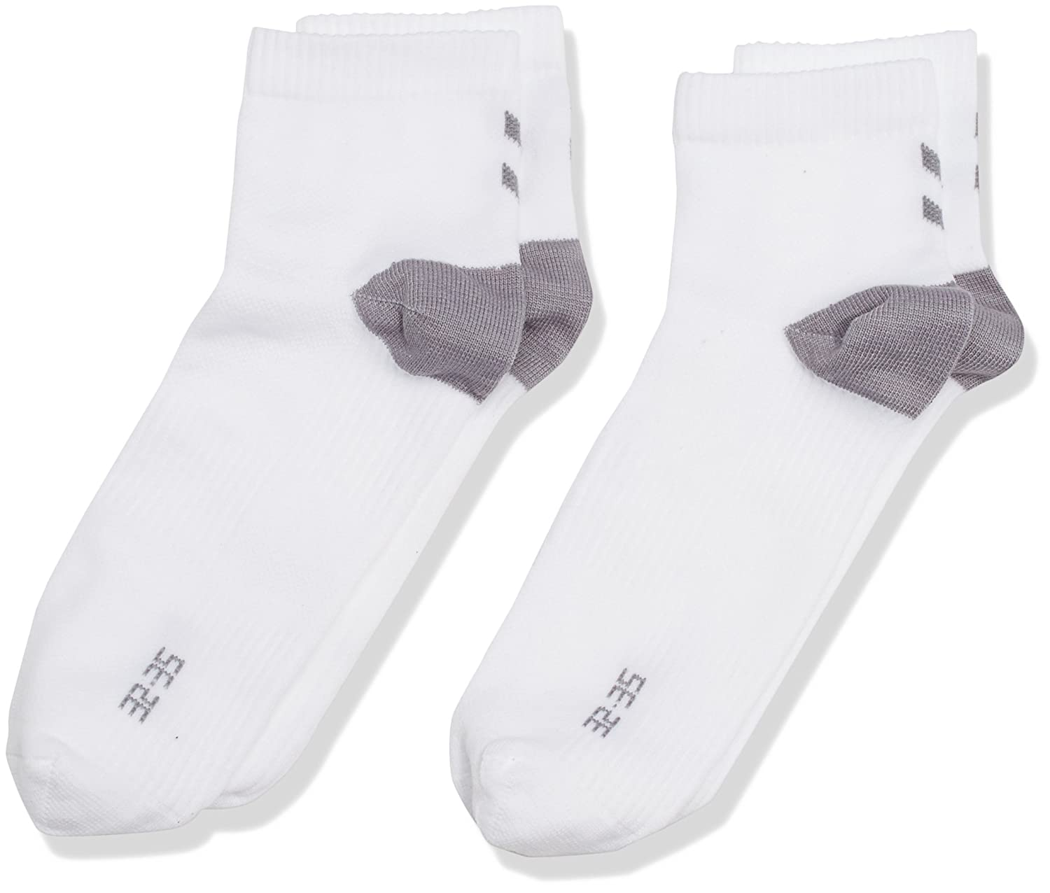 Hummel Niños Calcetines Performance de 2 Pack, Todo el año, Infantil, Color Blanco - White/Lighter Monument, tamaño 8 (32-35): Amazon.es: Deportes y aire ...