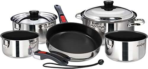 Universal RV Cookware (Pots and Pans Cookset) [Magma] Picture