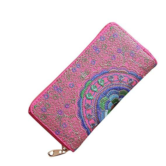 Amazon.com: Womens Wallets and Purses Clutch Wallet Female ...