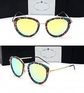Farbe Objektiv Reflektierende Sonnenbrille Frauen Gläser Fahren Fahren Mode Sonnenbrillen Schwarzer Rahmen Eisblau jkZe89d