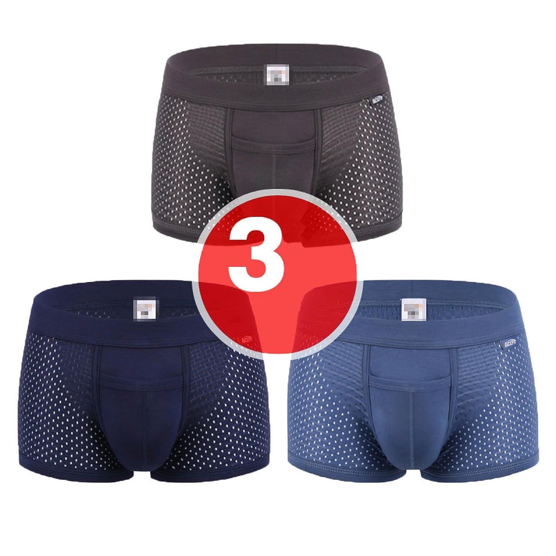 on sale Soie Glace Modales Hommes Caleçons Pantalons Convexe U De La Vessie  Perméable à L df18e02d976