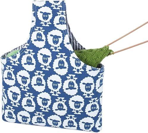 Teamoy Bolso de Ovillos Bolsa en Mano de Tejer Bolsos para Agujas Mochila de Crochet(pequeño,Alpaca): Amazon.es: Hogar