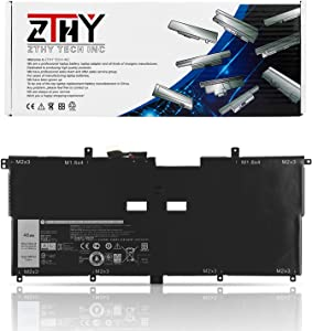 ZTHY NNF1C HMPFH Battery Replacement for Dell XPS 13 9365 2in1 2017 Series XPS 13-9365-D1605TS 13-9365-D1805TS 13-9365-D2805TS 13-9365-D3605TS Series Laptop 0NNF1C 7.6V 46Wh 5940mAh 4Cell