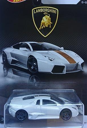 Hot Wheels 2017 Lamborghini Series Lamborghini Reventon 8/8, White
