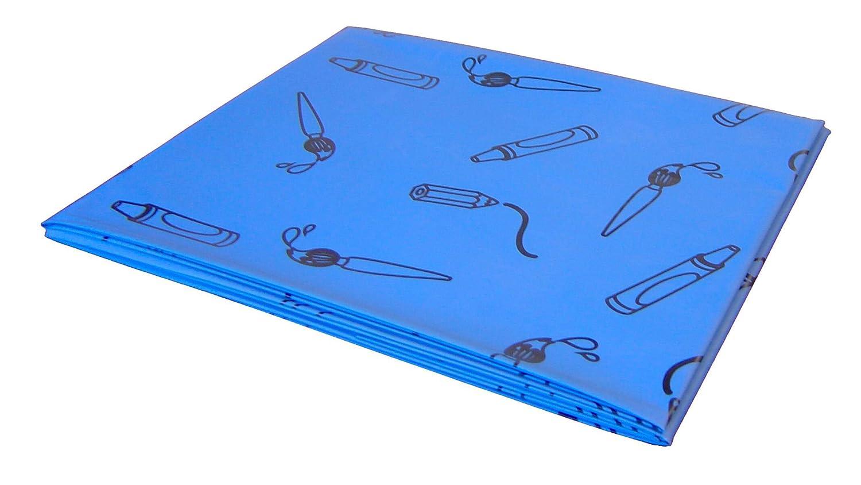 Splashmat Blau Plastikdecke