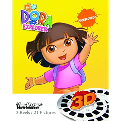 Join Dora And Her Friends - ViewMaster 3D Reels - Dora the Explorer 3-pack set: Toys & Games