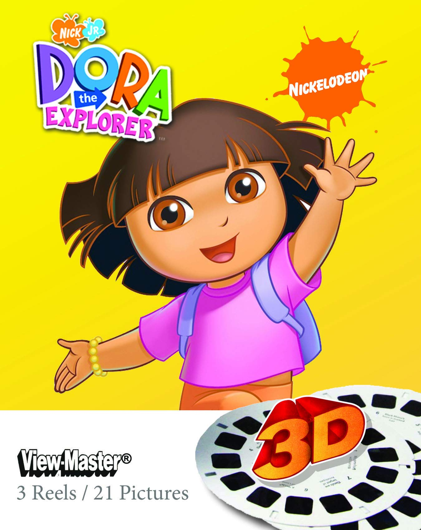 Join Dora And Her Friends - ViewMaster 3D Reels - Dora the Explorer 3-pack set by 3Dstereo ViewMaster (Image #1)