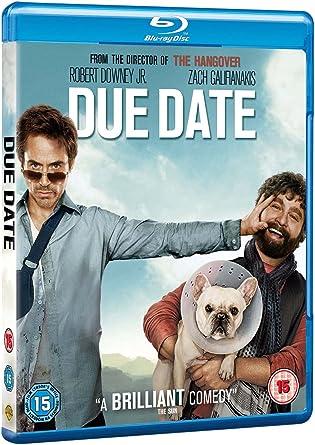 Due Date Blu Ray 2010 Region Free Amazon Co Uk Robert Downey Jr Zach Galifianakis Jamie Foxx Todd Phillips Robert Downey Jr Zach Galifianakis Dvd Blu Ray