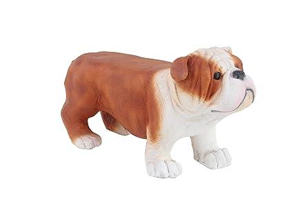 Amazon.com: Deco 79 77953 Modern Polystone Bulldog Stool 30
