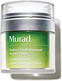 product image for Murad Resurgence Retinol Youth Renewal Night Cream - Retinol Cream for Lines and Wrinkles - Anti-Aging Night Face Cream - Night Cream for Face Firming and Smoothing, 1.7 Fl Oz