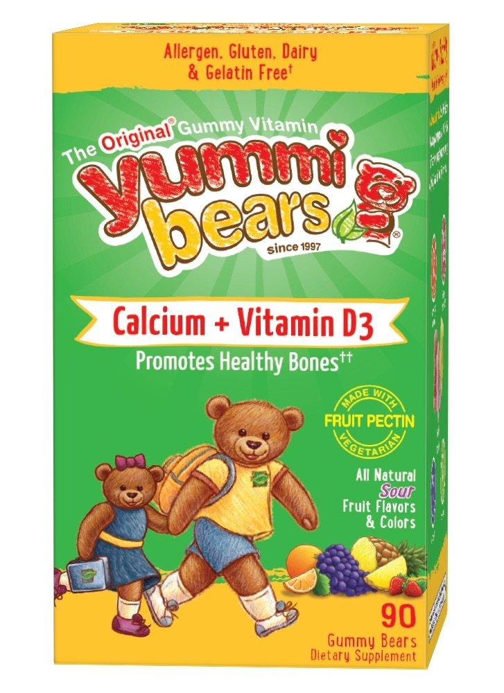 Amazoncom Yummi Bears Organics Vegetarian VitaminD