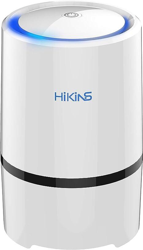 HiKiNS purificador de Aire portátil con Filtro HEPA Verdadero y ...