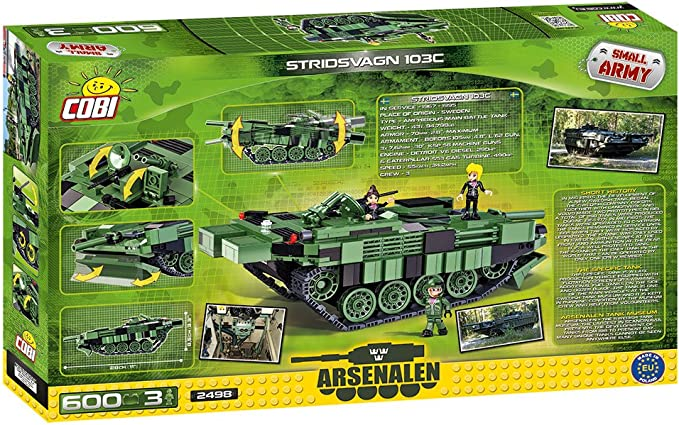 Stridsvagn 103 World Of Tanks Cobi 515 Pcs