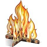 Beistle 57322 3D Campfire Centerpiece, 12-Inch
