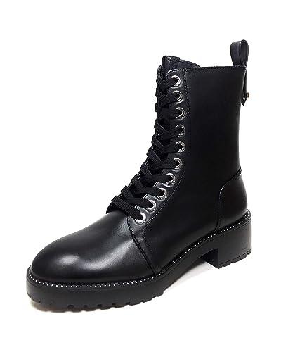 : Zara Women Micro studded leather biker ankle