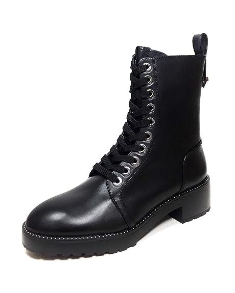 8f6c2683f86f4 Zara Women's Micro-Studded Leather Biker Ankle Boots 5164/301 ...