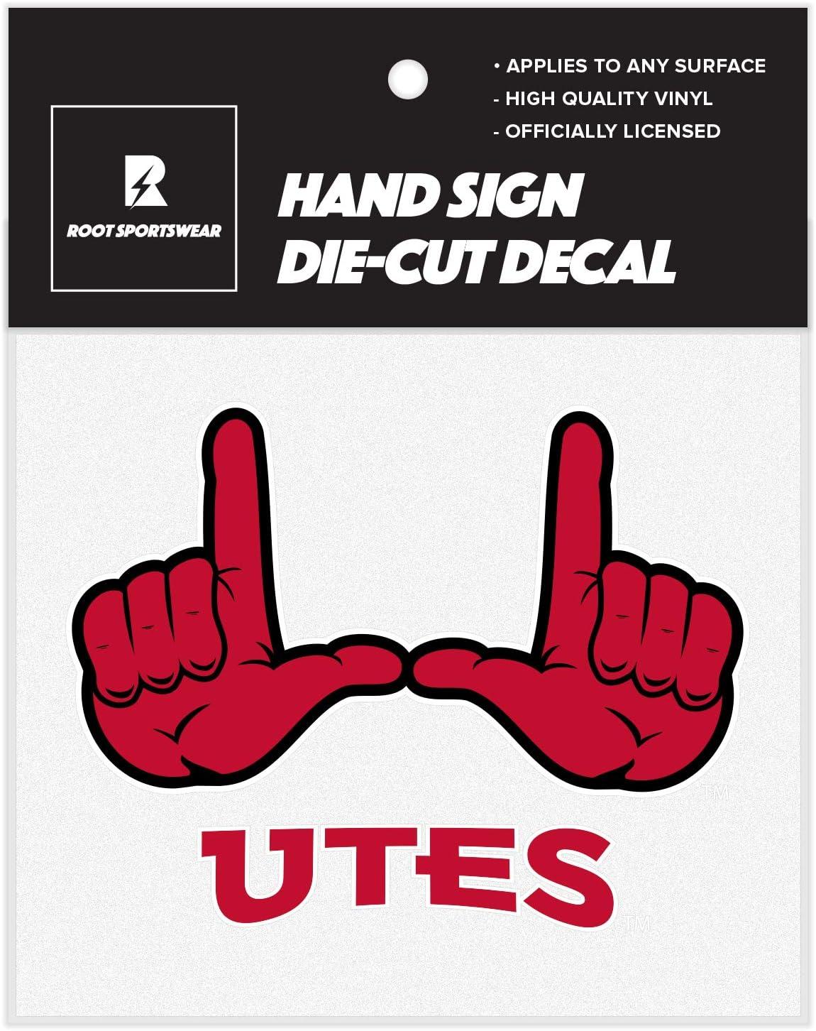 Kansas State Wildcats NCAA College Hand Sign 5x5 Vinyl Die-Cut Car Decal Sticker