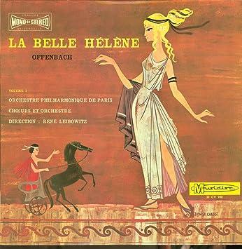 Rene Leibowitz - Rene Leibowitz - Offenbach - La Belle Helene Volume 1 - Musidisc - 30 CV 940 - France - NM/NM LP - Amazon.com Music