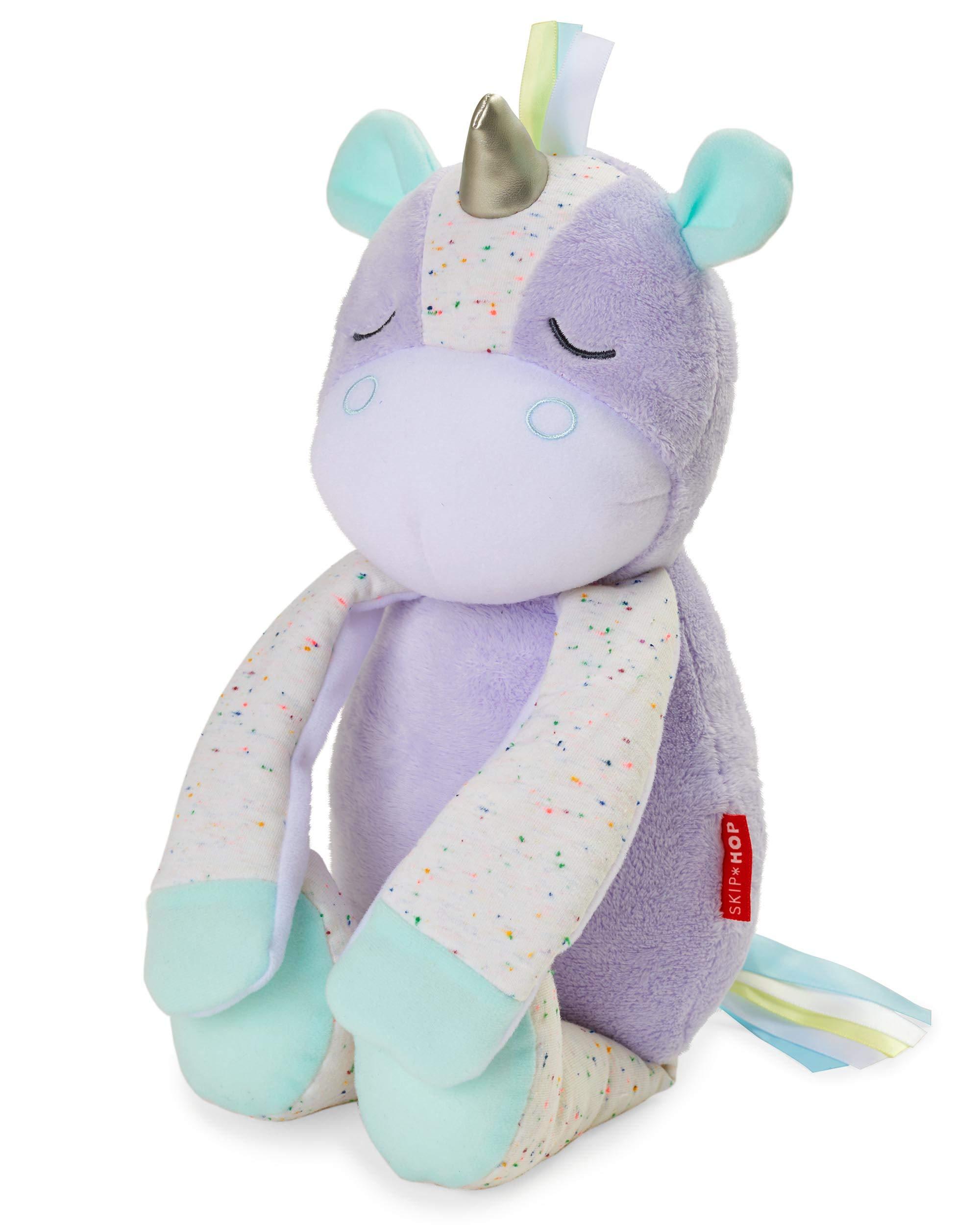 Skip Hop Cry-Activated Baby Sleep Soother & Nursery Sound Machine - Plush Unicorn