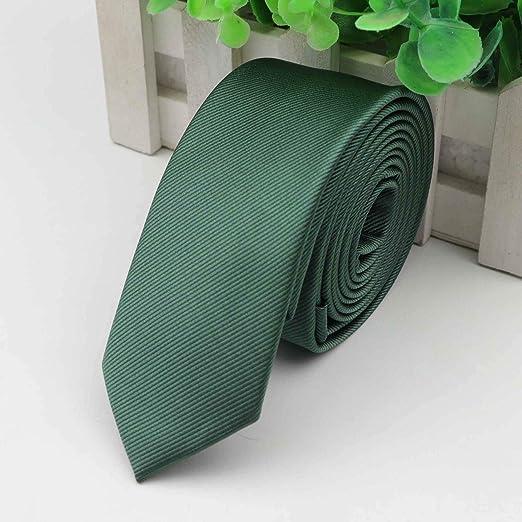 Corbatas Agujas Corbata de 5 cm de Ancho sólido Lazos del Color ...