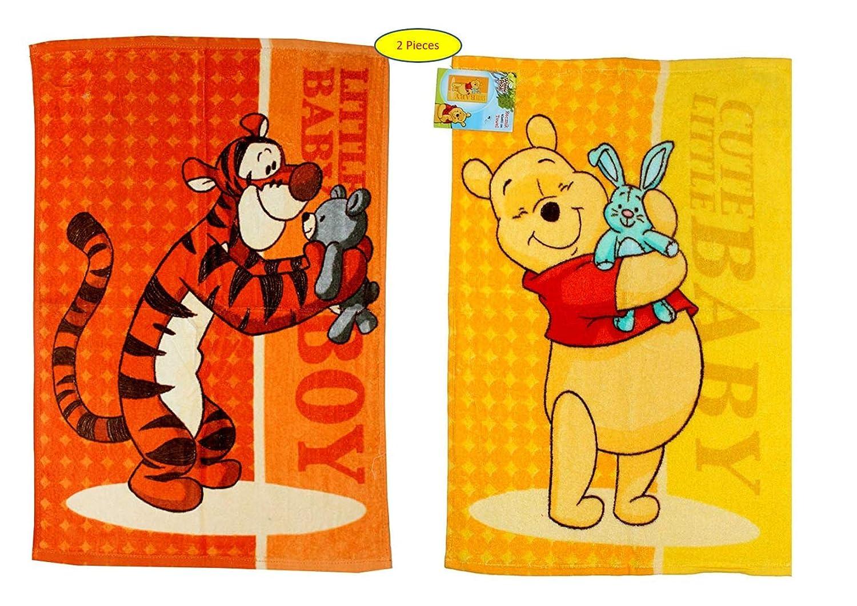 asciugamani//salviette Set da 2 pezzi Disney Winnie The Pooh 40 x 60 cm W02