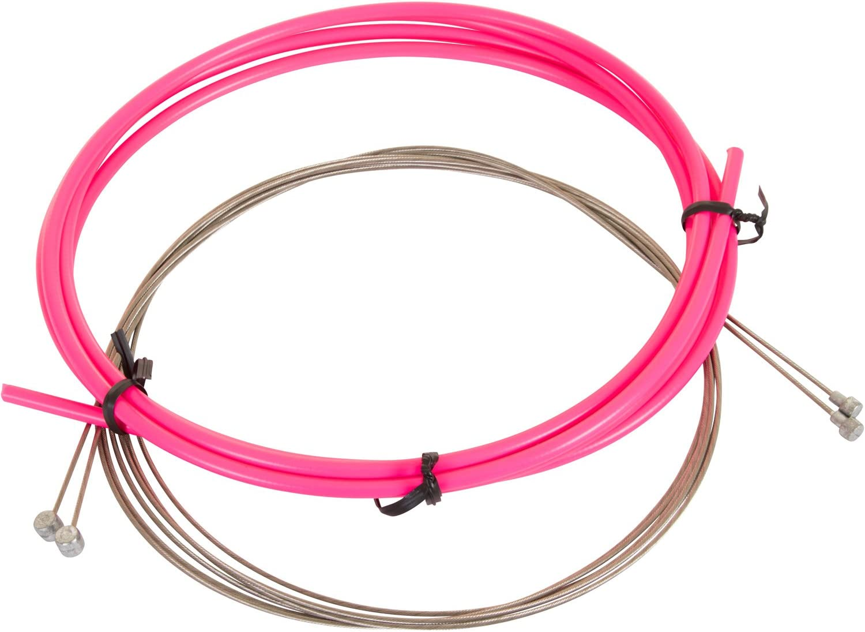 4 en plastique Noir Extérieur Câble Fin Pour 5 mm de frein vélo//cycle Câbles