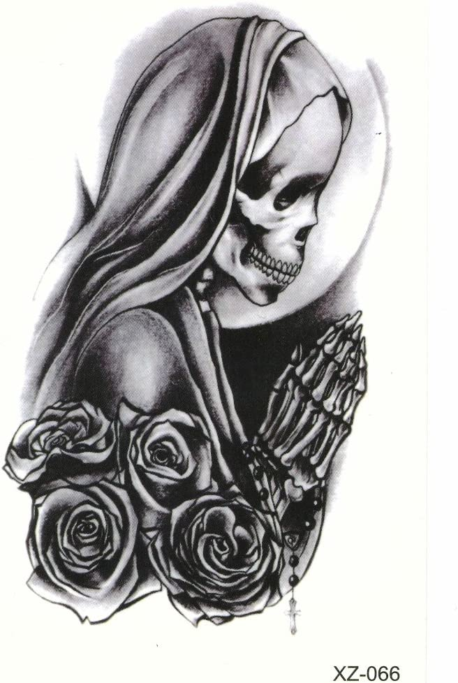 Just Fox – Tattoo Nail Art la Catrina Day of the Dead Dia de los ...