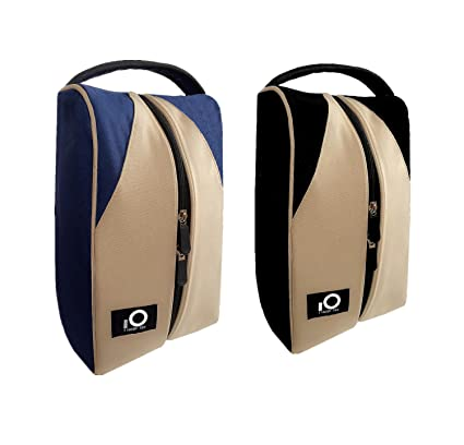 e53f3b1908b8 Amazon.com   FINGER TEN Golf Shoe Bag Men Women