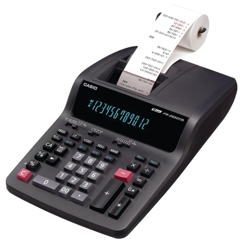 Casio FR2650TM Standard Function Calculator FR-2650TM