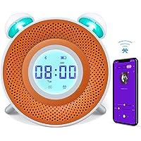 Réveil, Danolt USB recharge intelligente réveil numérique, 7 couleurs chevet horloge Kids Story Bedtime avec lecteur MP3 - 1 GB TF Carte / Compatible dans IOS et Android système